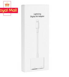 Apple iPad iPhone 5 6 7 8 X XS 11 12 Pro Max Lightning to HDMI Digital TV AV Adapter Cable